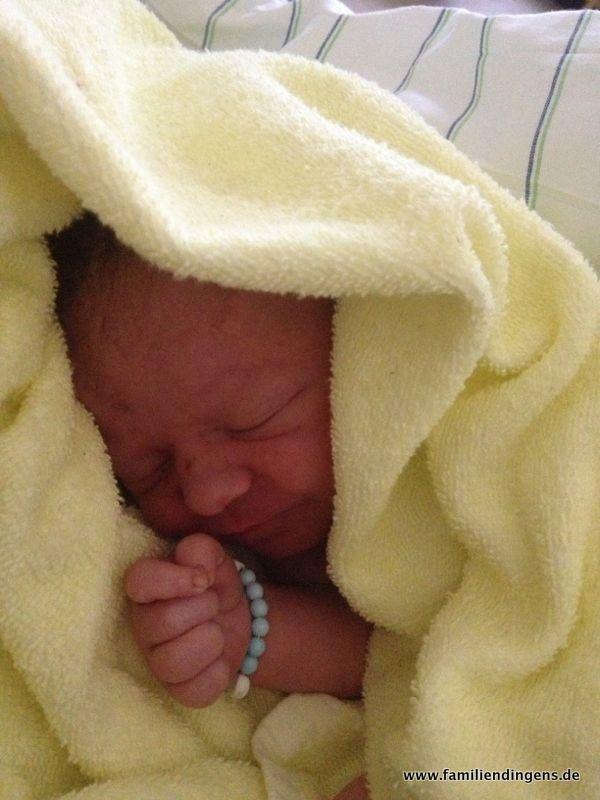 Jano, direkt nach der Geburt.