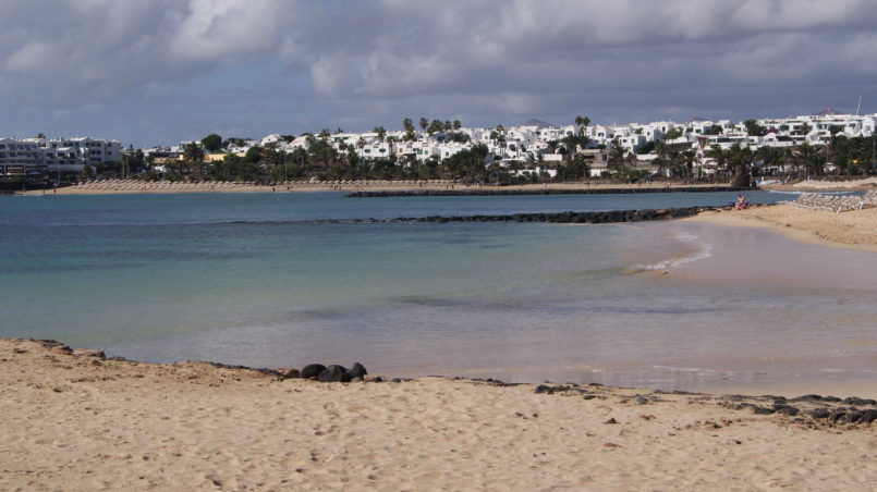 Strand in Costa Teguise