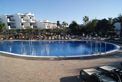 Pool Hotel Albatros, Lanzarote