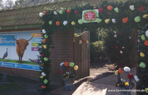 Eingangsbereich des Tiergartens